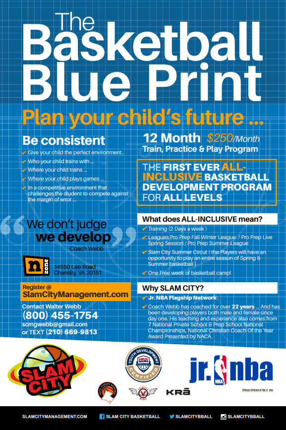 The Basketball Blue Print